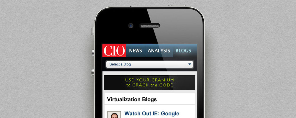 CIO Blogs Mobile