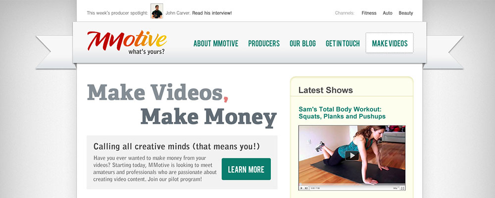 MMotive Home Page